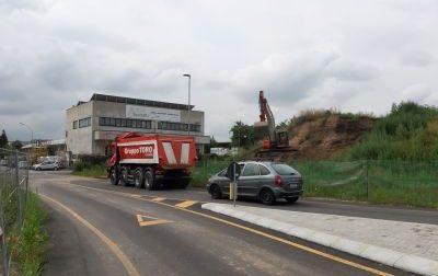 Pregnana: Ripresi i lavori  della nuova strada tra viale Lombardia e la Sp172