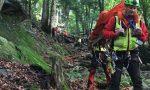 Cade nel bosco, trovata dopo ore di ricerche