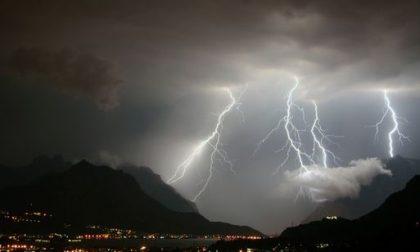 In arrivo nuovi temporali, resta l'allerta meteo
