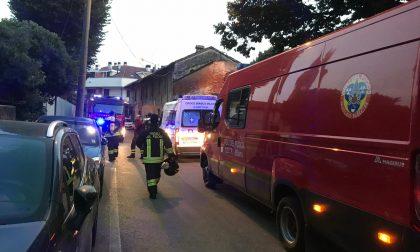 Esplosione in casa, donna ferita