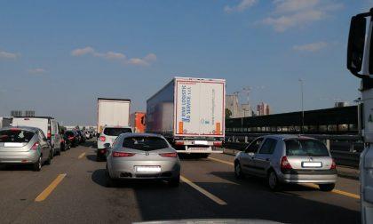 Traffico bloccato sulla A4 tra Pero e Sesto San Giovanni