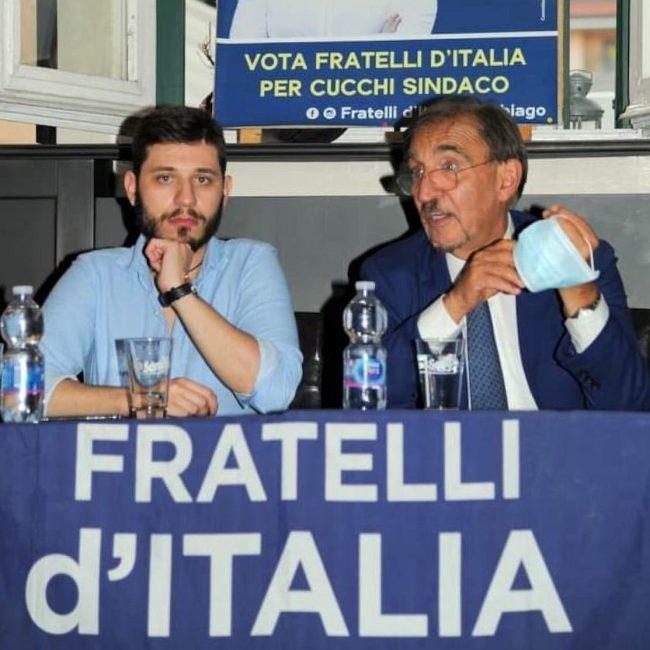 Parabiago, Ignazio La Russa a sostegno di Fratelli d'Italia con Giuliano Polito