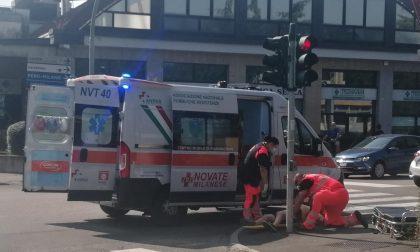 Incidente in corso Europa a Rho: travolto ciclista FOTO