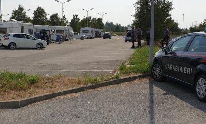 Le roulotte dei nomadi sono tornate nell'Abbiatense