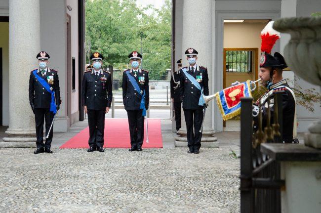 Andrea Taurelli Salimbeni nuovo comandante Carabinieri Legione Lombardia