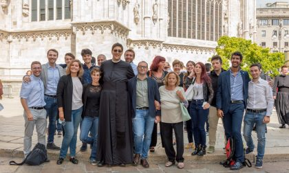 """Vestizione, Gioele Asquini dice pubblicamente il suo primo """"sì"""" alla Chiesa FOTO"""