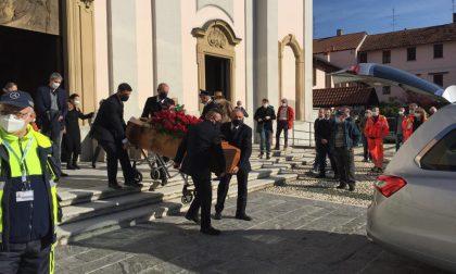 Arluno saluta per l'ultima volta l'ex sindaco Pastori FOTO