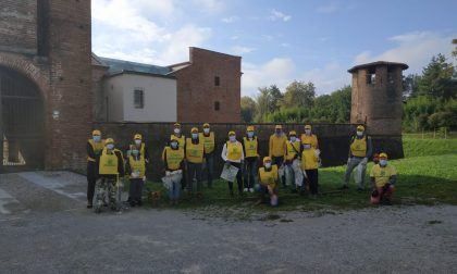 Volontari in azione per pulire Legnano con Legambiente