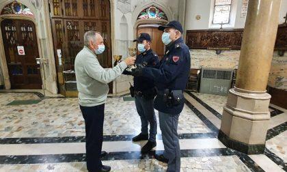 Ruba il calice di Giovanni Paolo II: arrestato