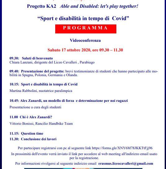Parabiago, Erasmusdays