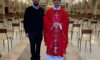 Grande festa per il nuovo parroco don Luca