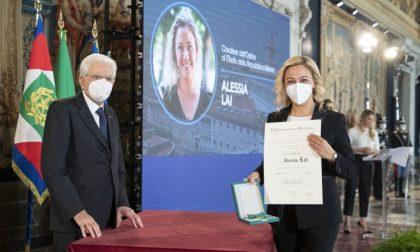 Coronavirus, Alessia Lai insignita Cavaliere da Mattarella – LE FOTO