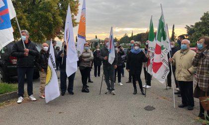 Protesta contro il cantiere infinito FOTO E VIDEO