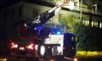 Incendio nell'ex calzaturificio Ugo Rossetti FOTO
