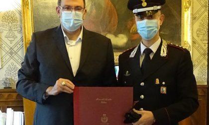Il benvenuto del sindaco al nuovo Comandante dei Carabinieri di Rho