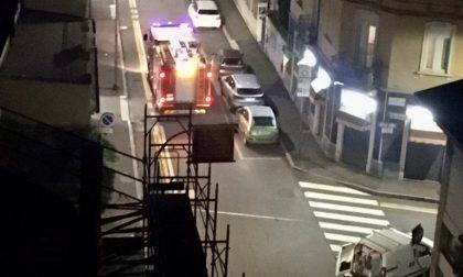 Fuga di gas in via Porta Ronca a Rho FOTO