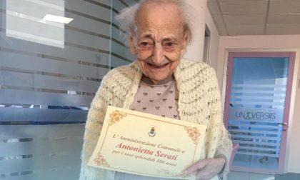 Corbetta festeggia i cento anni di Antonietta