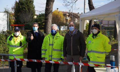 Maxi vaccinazioni a Corbetta: la visita dell'assessore Gallera – LE FOTO