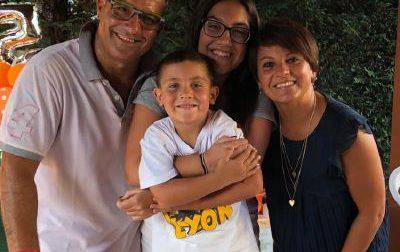 Federico, 5 anni, dopo un trapianto di midollo ha sconfitto la leucemia