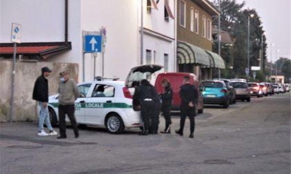Donna investita a Cesate e portata in ospedale
