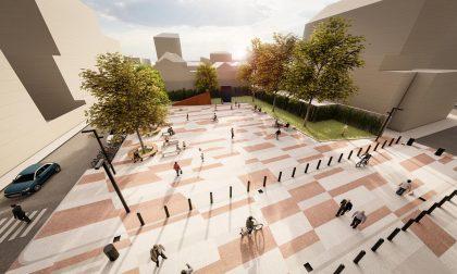 Approvato il progetto per la piazza del Teatro civico Roberto de Silva FOTO