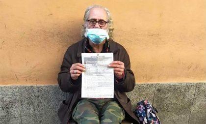 Covid, multato senzatetto perché lontano da casa