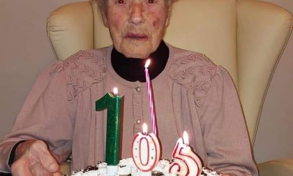 I 105 anni di Giuseppina Ghidoli