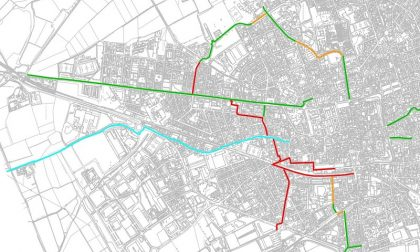 Abbiategrasso, due chilometri di nuove piste ciclabili