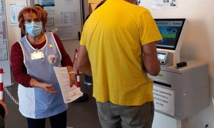 Volontari Acvo di nuovo operativi all'ospedale di Legnano