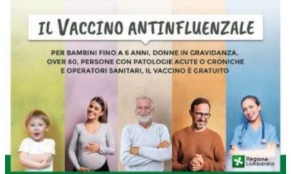 Antinfluenzale, al via la campagna vaccinale