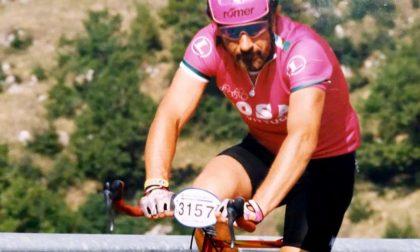 Addio a Gino Re Fraschini, una vita sulla sua bici