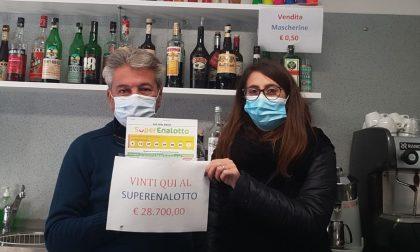 Superenalotto, vincita da 28.700 euro a Canegrate