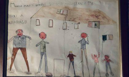 Anniversario di Parabiago: il disegno di Marco a Craxi 34 anni dopo