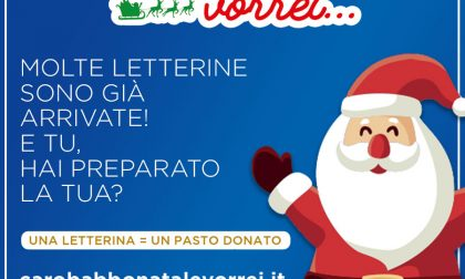 Scrivi anche tu a Babbo Natale, per ogni letterina noi doneremo un pasto alle persone meno fortunate