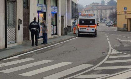 Incidente in piazza Concordia a Busto Garolfo