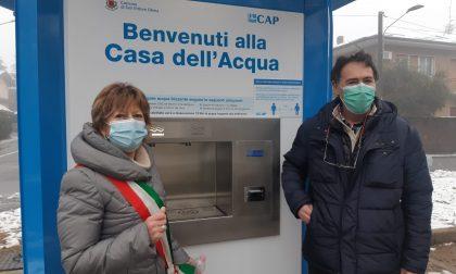 Casa dell'acqua inaugurata in via Monti FOTO e VIDEO