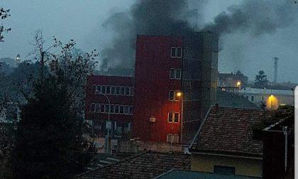 Incendio doloso negli edifici dell'ex Siltal