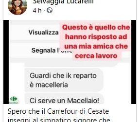 Selvaggia Lucarelli, polemica sul commento sessista in risposta alla richiesta di lavoro FOTO