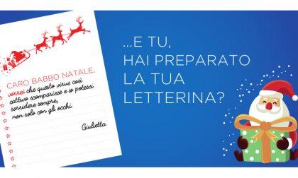 """""""Caro Babbo Natale vorrei…"""", scrivi anche tu: per ogni letterina un pasto donato ai bisognosi"""