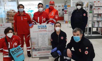 Croce Rossa in prima linea anche con la Raccolta alimentare