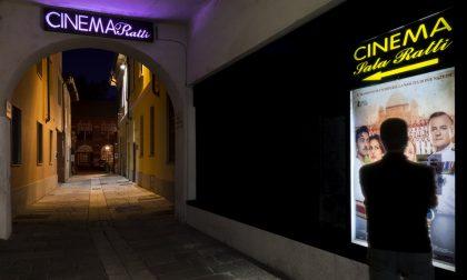 Cinema, la Sala Ratti di Legnano riapre per Santa Lucia