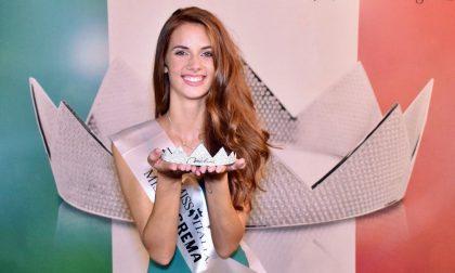 Miss Lombardia ha i capelli rossi e gli occhi verdi e viene da Villa Cortese FOTO