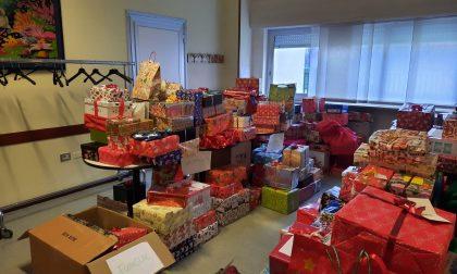 Sono 670 le scatole di Natale arrivate ad Arese