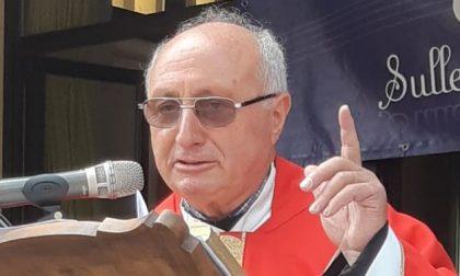 Il parroco don Giuseppe Pediglieri lascia il paese