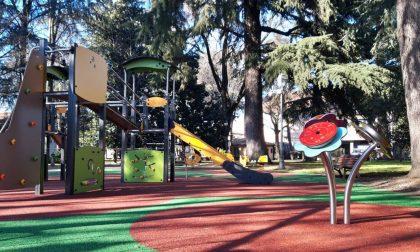 Parco di Casa Giacobbe, inaugurati i nuovi giochi