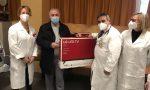 Nuovi tv per il pronto soccorso del Fornaroli... nella calza VIDEO