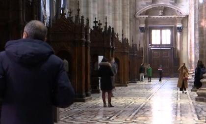 Il Duomo di Milano riapre dopo tre mesi: visitatori (e vip) già in fila