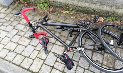 Incidente per un ciclista a Nosate
