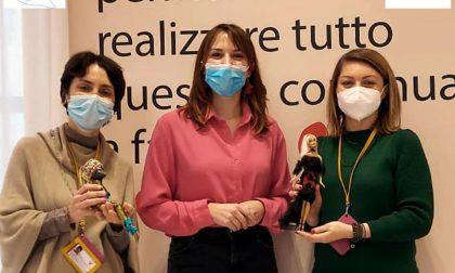 Le bambole di Rebecca per i bambini del Niguarda