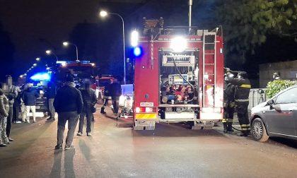 Incendio alle case popolari, 50 persone evacuate